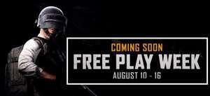 PUBG: Battlegrounds (Steam) ab 10.August bis zum 16. August kostenlos spielen