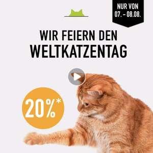 20% auf das komplette Katzensortiment bei Kölle Zoo - Weltkatzentag (MBW 29€)