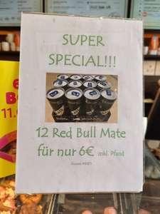[Dunkin Donuts Berlin Alexanderplatz] 12x Red Bull Mate (MHD 3.9.21)