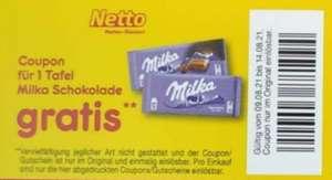 [Netto MD] Milka Schokolade kostenlos gratis / Freebie mit Coupon