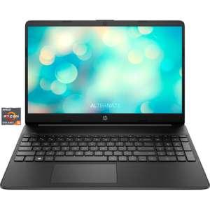 """HP 15s-eq2152ng Notebook 15,6"""" IPS FHD, Ryzen 5500U 6C/12T, 8+256GB, 41Wh/9.5h, FreeDos"""