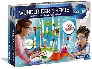 Experimentierkasten von Clementoni - Wunder der Chemie [180 Experimente] [Prime oder Abholstation]