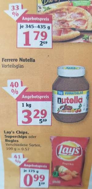 [Globus (Supermarkt) lokal?] Nutella 1kg-Vorteilsglas