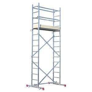KRAUSE Corda Alu-Montagegerüst mit 5 m Arbeitshöhe für 333 Euro beim Globus Baumarkt, mit der Bauhaus Tiefpreisgarantie für 293,04 Euro