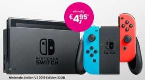 Telekom Netz: Nintendo Switch V2 Konsole rot/blau im Mobilcom-Debitel green LTE 30GB Allnet/SMS Flat für 24,99€ monatlich, 4,95€ einmalig