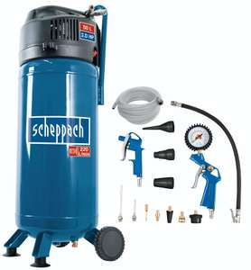 Kompressor 50L 10 bar Scheppach VC52Pro SE