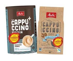 Melitta Cappuccino und/oder Protein Cappuccino Gratis Testen (2x Produkte) bei der EDEKA-Gruppe Nord [GzG]