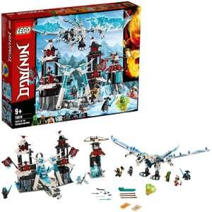 Lego 70678 NINJAGO Festung im ewigen EIS, Set mit Eisdrachen-Spielzeug, Meister des Spinjitzu Spielset [Amazon]