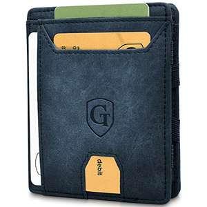 [Prime] GenTo® FLAPLET I Mini- Geldbörse mit Münzfach und RFID-Shield/NFC