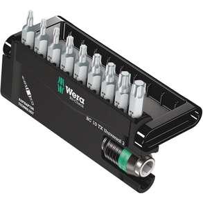 Wera Bit-Sortiment, Bit-Check 10 TX Universal 2, 10-teilig, 05057115001 (Prime)