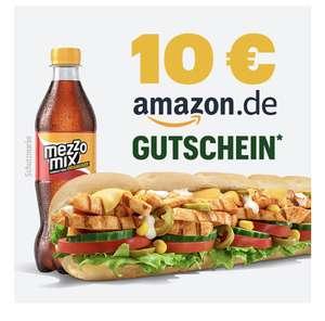 Subway Click and Eat Bestellung , ab 25€ gibts einen 10€ Amazon Gutschein +2€ Reebate/ 2€ Shoop möglich