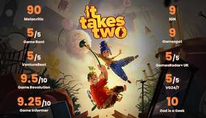 (PC, Steam) It Takes Two - Steam