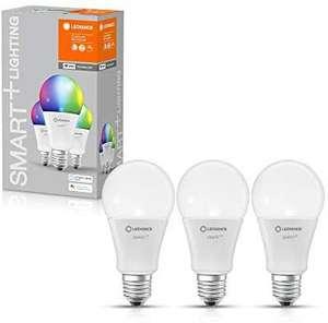 3er Pack LEDVANCE SMART+ WiFi Classic Multicolour E27, RGBWW