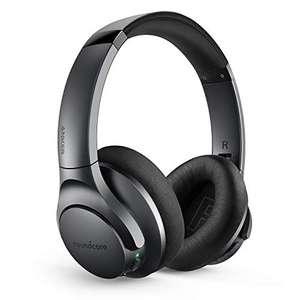Soundcore by Anker Life Q20 Bluetooth Kopfhörer (Aktive Geräuschunterdrückung, 40 Std. Wiedergabezeit, Hi-Res Audio)