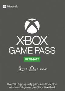 XBOX Game Pass Ultimate Keys 1 Monat unter 5€ (4x7 Tage Keys)