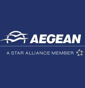 Aegean Airlines: 50% Rabatt Gutschein auf Hin und Rückflug bei Zahlung mit Visa (auch Business Class)