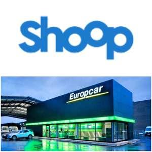 [Europcar + Shoop] 10% Cashback + 10€ Shoop-Gutschein ab 150 MBW + 19€ Rabattgutschein ab 190€ MBW