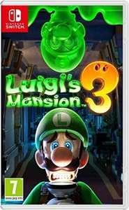 Luigi's Mansion 3 - EU PEGI ~ mit deutschen Untertiteln - französisches Cover [Nintendo Switch]