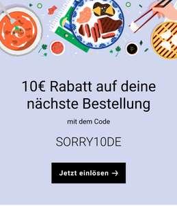 UBER Eats 10 Euro Gutschein, bei Abholung Freebies möglich (personalisiert?)