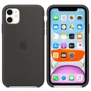 iPhone 11 Silicone Case MWVU2ZM/A schwarz
