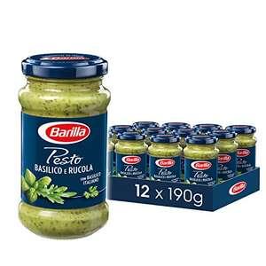 Barilla Pesto im Prime-Sparabo (bei 15% dann 1,69 im 12er-Pack) – Genovese & Vegane Basilikum für 1,49,-