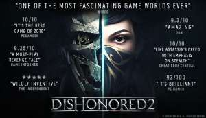 Dishonored 2 - Steam Key für 3,80€ - Deluxe Edition inkl. DLC für 7,60€ - Historical Low (official shops)