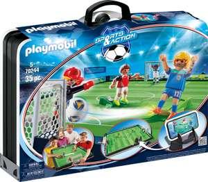 PLAYMOBIL, Große Fußballarena zum Mitnehmen, Sports & Action, 70244