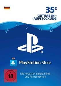 35€ PlayStation Store Guthaben für 27,97€ (PSN Deutschland, Faktor 0,80)
