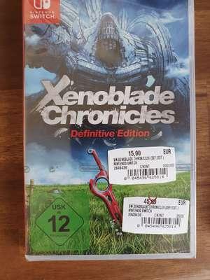 [Lokal Hannover] Xenoblade Chronicles (15€) und weitere Switch Spiele im Angebot