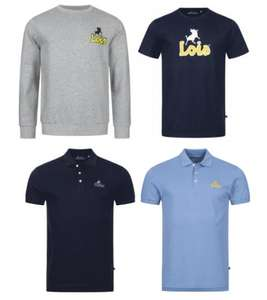 LOIS Mega Sale, zB Small Logo Herren Sweatshirt (Größen S bis XXL)
