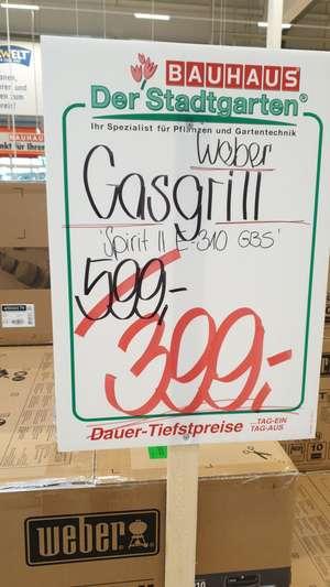 Weber Spirit ll 310 GBS - Gasgrill (Lokal Bauhaus Krefeld)