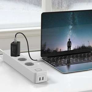 WLAN-Mehrfachsteckdose BlitzWolf BW-SHP9 mit 3 unabhängig steuerbaren Steckdosen + 2x USB