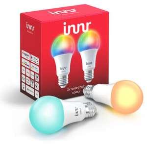 Innr 2x Color Bulb E27 smart LED Zigbee