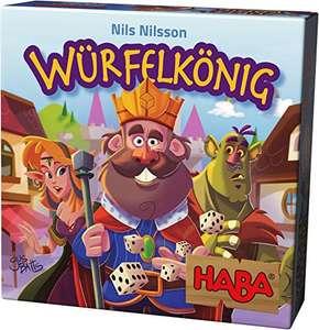 [Prime] Haba 303485 - Würfelkönig, kniffeliges Zockerspiel für 2-5 Spieler ab 8 Jahren, spannendes Gesellschaftsspiel für die ganze Familie