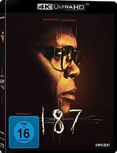 187 - Eine tödliche Zahl (4K Blu-ray) für 11,97€ (Amazon Prime)