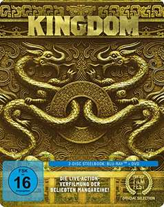 Kingdom 2-Disc Limited Steelbook Edition (Blu-ray + DVD) für 9,97€ (Amazon Prime)