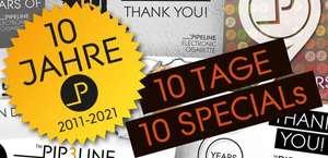10 Jahre Pipeline - Jeden Tag Special Deals