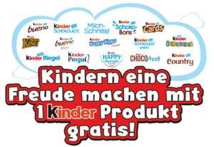 Ferrero Kindertag! Ein Kinder-Produkt am 18.09.2021 GRATIS TESTEN! GzG bzg. Weltkindertag