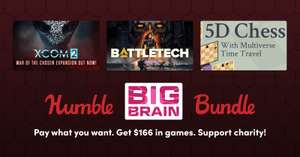 Humble Bundle Big Brain Bundle mit u.a. BATTLETECH, X-COM 2