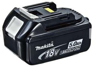 Makita Li-Ion Akku 18V BL1850B 5 A.h