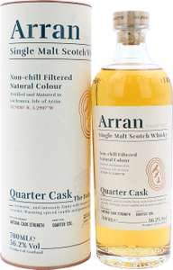 Arran Quarter Cask The Bothy 56.2% 0,7l, Single Malt Whisky