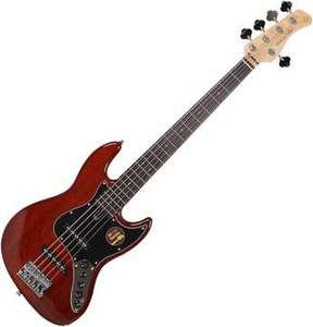 Sire Marcus Miller V3 5 2nd Gen Mahagoni, 5 Saiter E-Bass, Jazz Bass [Muziker]