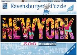 Ravensburger Puzzle - New York Graffiti, 500 Teile, 70 x 25 cm für 5€ (Müller Abholung)