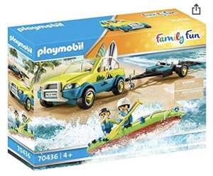 PLAYMOBIL Family Fun 70436 Strandauto mit Kanuanhänger, Ab 4 Jahren (Prime)