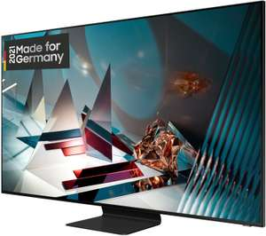 SAMSUNG GQ75Q800T QLED TV (75 Zoll / 189 cm, QLED 8K, SMART TV) + gratis Samsung Galaxy 20 oder Samsung HW-Q70T/ZG