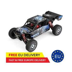 Wltoys 124018 RC Buggy + zweiter Akku. - 60 Km/h 2.4G 4WD Metal Chassis - Lieferung aus der EU für 102€