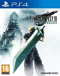 Final Fantasy VII Remake (PS4) inkl. PS5 Upgrade für 27,68€ inkl. Versand (Amazon UK)