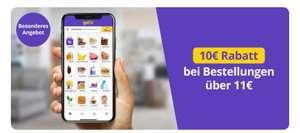 [Berlin] Getir Lieferdienst (Gorillas & Flink Alternative) - 10€ Rabatt bei Bestellungen über 11€ (ggfs. personalisiert)