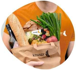 [München] 20 Euro Rabatt ab 29 Euro Lebensmitteleinkauf auf Knuspr.de (+ 30€ Überraschungstüte für Neukunden)