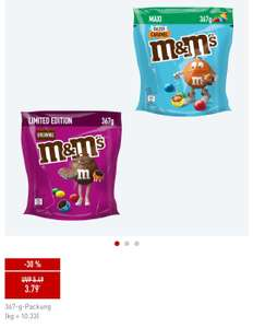 M&M's Brownie und Salted Caramel